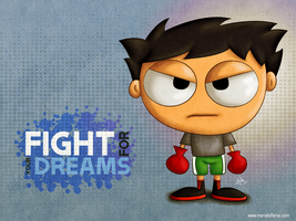 Fight for your dreams by KellerAC