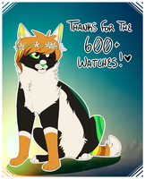 :: Thanks For 600+ Watchers !! :: by indesomniac