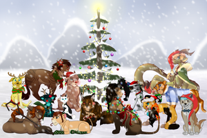 Winter Collab 2014 by Bawfle
