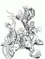 Kingdom hearts. by kidro198