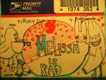 melissa is rad by monkEeXD