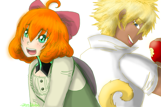 RWBY - Spare Change and a Monkey by HezuNeutral