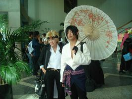 Jin and Miguel -Fanime 2008- by MrsRizaMustang