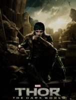 Colin Morgan aka God Loki by HellKobra