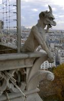 535 - gargoyle by WolfC-Stock