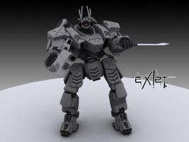 "Heavy Gear SSMI ""Predator"" by exizt"