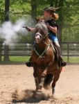 Cowboy Mounted Shooting 12 by jennifermary