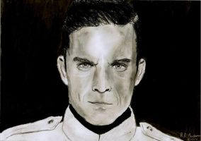 Robbie Williams Drawing by RachelLou96