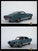 Ford Mustang GT500 Fastback by d1pst1ck