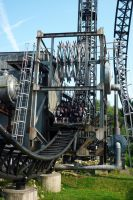 Saw: The Ride, Thorpe Park 2 by ggeudraco