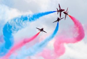 Red Arrows by dog123456