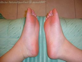Pink, Soft, Smooth, Relaxed by SelfshotYourFeet