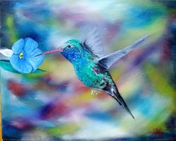 Hummingbird by ChinaJB