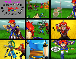:COLLAB: Nintendo High : Page 1 by Sonicbandicoot
