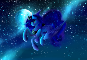 Luna's Night Sky by SnOeysKE