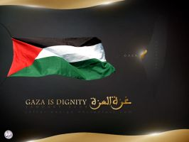 GAZA IS DIGNITY by Jaffer-Design