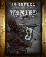 Deadpool Wanted by marcelo-g