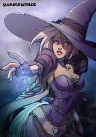 Slumberworld: White witch 1 by Kate-FoX