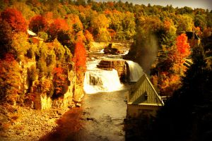 Ausable Chasm by donnatello129