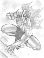 Spiderman 2099 commish by Csyeung