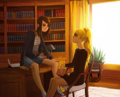 Mabifica: Study Room by catharticaagh