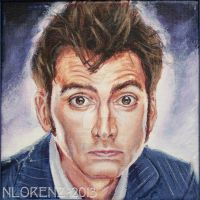 The Tenth Doctor: 50th Anniversary by napalmnacey