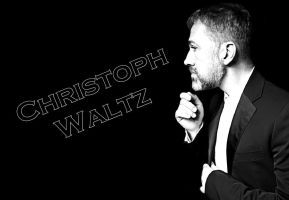 Christoph Waltz Wallpaper by MercuryMay