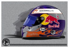 Red Bull Helmet by graphicwolf