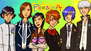 A whole mess of Personas by KellyDawn