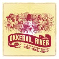 Okkervil River gig poster by goodmorningvoice