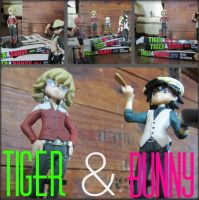 Tiger  Bunny Stuff I Bought by jumpit13