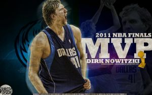 Dirk Nowitzki MVP Wallpaper by Angelmaker666