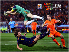 Casillas.2010 World Cup final. by DaShiR