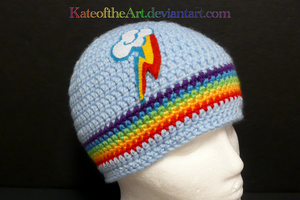 Rainbow Dash striped by KateoftheArt
