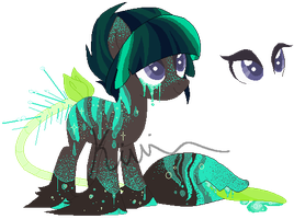 Custom Plant Pony #2 by wallabean