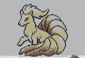 Minecraft - Ninetales by shadex00x