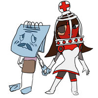 Clive X eve by HoneyShuckle