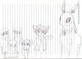 All my OC's by Delta-YD