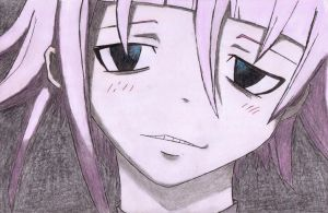 Crona looking pretty awesome by DemonMew