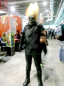 Ghost Rider Cosplay by Zuberiuth