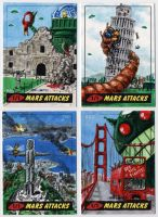Mars Attacks - Landmarks by tdastick