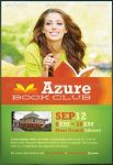 Azure Book Club Flyer Template by loswl