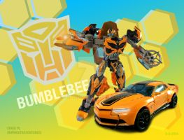 AOE Bumblebee Poster by Burnoutadventures