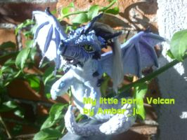 little pony custom dragon II by AmbarJulieta