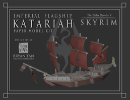 Skyrim - Katariah Paper Model by RocketmanTan