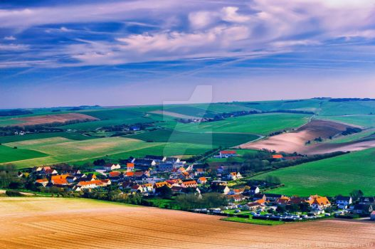 Landscape like a painting by UnePhotographie