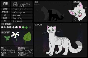 Glasspaw Ref by BeadFeather