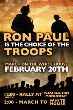 Ron Paul is the Choice of the Troops by LibertyBroadsides