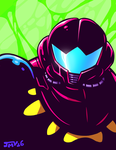 Metroid - Fusion Suit by Kaigetsudo