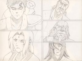 The Five Kage naruto character by dmyx